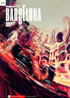 Scuderia Ferrari - Spanish Grand Prix 2019 - cover art by Marco Mastrazzo Gp F1, Spanish Grand Prix, Formula 1 Car, Ferrari F1, New Poster, Automotive Art, F1 Racing, Vintage Racing, Go Kart