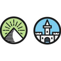 Creative Castle, Mini, Vector, Icons, and Pyramid image ideas & inspiration on Designspiration Icon Gif, Pictogram, Line Icon, Customer Experience, Buick Logo, Logos, Wonders Of The World, Design Elements, Illustration Art