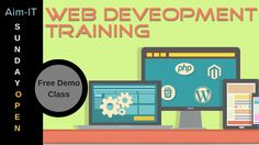 Web Development Training Institute in Noida  AIM-IT provides best offers in web development and web design training with job placement agencies.  #web_develoment_training #web_design #summer_internship #live_project  Contact us - 01204712204