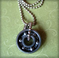 Bearing necklace.