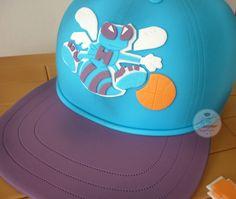 Charlotte Hornets Basketball Cap Cake