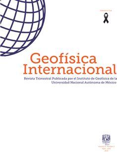 Portada Geofísica Internacional