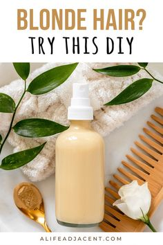If you have blonde hair, you need to try this DIY dry shampoo for blondes! Made with natural ingredients, this easy greasy hair hack eliminates oily hair in seconds – with no white cast or ashy tone on your blonde! The secret ingredient? You'll have to read to find, but this dry shampoo spray DIY is natural, less messy than powder, with no baking soda so it won't irritate a sensitive scalp. Learn how to make and apply this dry shampoo recipe for your natural hair care routine. Homemade Dry Shampoo, Diy Shampoo, Natural Haircare, Natural Skin, Greasy Hair Hairstyles, Diy Hair Care, Oily Hair, Hair Care Routine, Diy Beauty