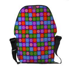 Graphic design courier bag