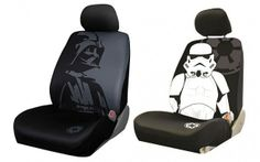 Make driver Darth Vader and all  other seats storm troopers. star wars seat covers 620x387