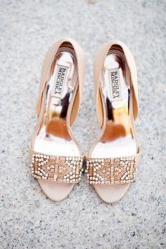 30 Preciosos Zapatos para Novias con Joyas - Bodas
