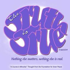 ACIM Weekly Thought