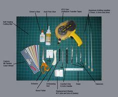 Brittney Lee Paper Art Tutorial Paper sculpting tutorial tools