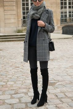 10 Fresh Ways to Wear Skinny Jeans This Fall  via @PureWow