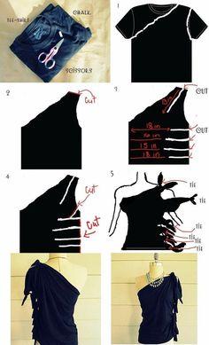 Passo a passo para você customizar camiseta   Artesanato na Prática