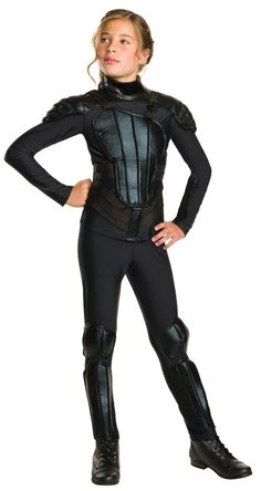 The Hunger Games: Mockingjay Part 1 Deluxe Tween Katniss Costume from Buycostumes.com