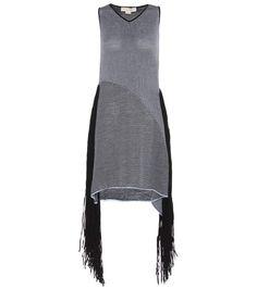 STELLA MCCARTNEY Fringed Dress. #stellamccartney #cloth #dresses