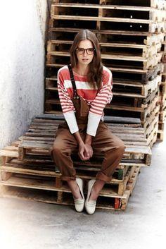 summer / winter / brown pants