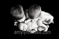 #newborn with #siblings