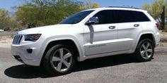 2014 Jeep Grand Cherokee Overland White