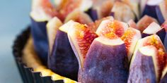 Fig Almond Tart by @