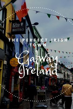 Oh Galway! You have my ❤️ and I've never even met you. How to spend the perfect day in Galway, Ireland Ireland Vacation, Ireland Travel, Cork Ireland, Places To Travel, Travel Destinations, Places To Visit, Ireland Destinations, England Ireland, Voyage Europe