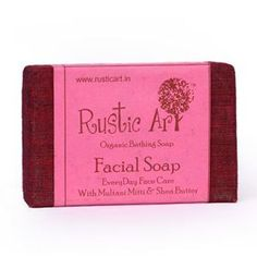 http://www.healthykya.com/rusticart-organic-facial-soap-set-of-2  Worriedwsith skin , use organically beautifying formula with Rusticart Organic Facial Soap - (Set of 2) improves with skintone , skin textures. It combines with coconut oil, multani mitti,coco grass, organic wheat germ oil