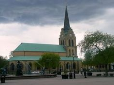 My son and I were there in 1975, Nikolaus kyrka i Halmstad,Sweden