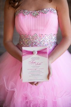 Glamorous Pink Princess Bat Mitzvah   http://www.beccarillo.com/bat-mitzvah-faith/