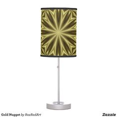 Gold Nugget Desk Lamps by RazRadArt