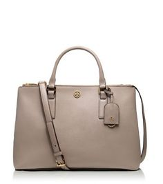 For work... Tory Burch ROBINSON DOUBLE-ZIP TOTE