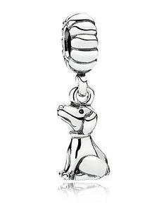 PANDORA Charm - Sterling Silver Buddy | Bloomingdale's $45