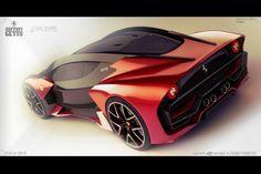 Ferrari Getto Design Concept Details: http://www.forcegt.com/news/ferrari-getto-design-concept/