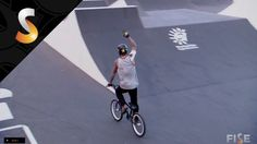 Logan Martin - 1st Final BMX Park - FISE World Montpellier 2014