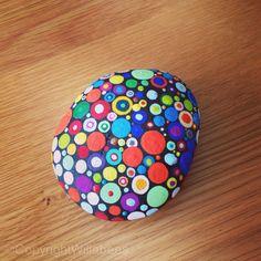 Dot art - rock art - pebble art ©Willabees https://www.facebook.com/willabeesdesigner