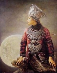 Zhao Chun was born in Shenyang City, Liaoning province, China. His search for the mythic reality of the Miao women let Zhao Chun to explore one of the most recurrent themes of Chinese arts that of the ultra sophisticated Miao women, in a completely new perspective.