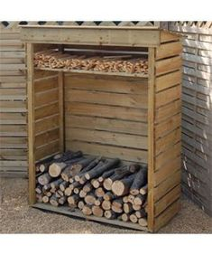Wood store - like the stick space at the top.: