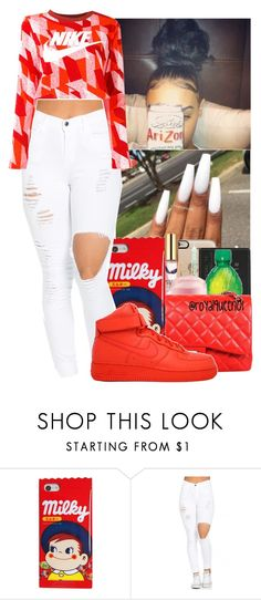 """""""❤️㊗️⚪️⚪️"""" by jasmine1164 ❤ liked on Polyvore featuring NIKE"""