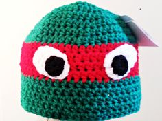 Ninja Turtle hats I'm going to try.