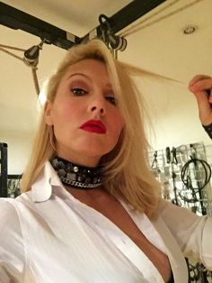 "horstie-fm: ""Mistress Akella! "" Female Supremacy, Satin Blouses, Dominatrix, High Class, White Shirts, Mistress, Curvy, Cosplay, Lady"