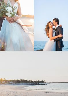 Sunset Beach Wedding Inspiration » Planning and design: Smells Like Peonies Events   Photography: Ava Moore Photography