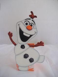 Porta Lápis Olaf Frozen