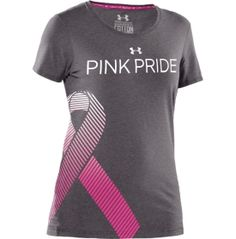 Under Armour Womens Power in Pink Ribbon T-Shirt - Dicks Sporting Goods