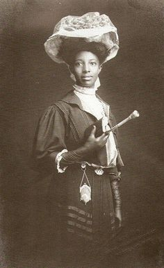 An 1898 photo of Carlotta Stewart, 1881-1952, teacher and principal of multiracial school in Hawaii, 1909 by spiralsheep, via Flickr