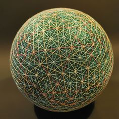 A Grandmother Creates A Spectacular Collection Of Embroidered Temari Spheres Temari Patterns, Civil War Quilts, Textiles Techniques, Colossal Art, Contemporary Embroidery, Thread Art, Vintage Sewing Machines, Egg Art, Sewing Art