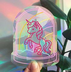 Rainbowmaker Unicorn | HAPPY WINDOWS | Happy Whatever Unique Cards, Snow Globes, Happy, Unicorn, Windows, Instagram, Ser Feliz, Window, Unicorns