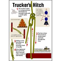 We all know it, but the Trucker's Hitch is one of my top 5 knots! #Repost @preppersandsurvivalists #bushcraft #survival #georgiabushcraft