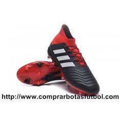 premium selection 97f7b 2f534 Botas De Futbol Adidas Predator 18.1 FG Rojo Negro Blanco Compra Venta
