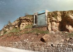 Work is set to begin on this striking subterranean residence by Open Platform for Architecture (OPA), which will be sliced into a mountainside near Beirut.