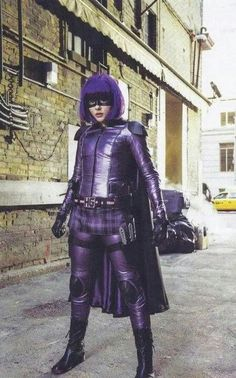 Chloe Moretz as Hitgirl as if she s going to whip someones ass