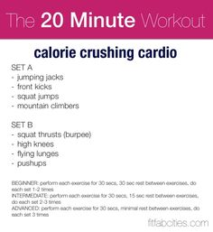 Cross training cardio for clients