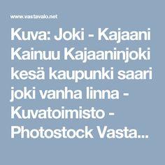 Kuva: Joki - Kajaani Kainuu Kajaaninjoki kesä kaupunki saari joki vanha linna - Kuvatoimisto - Photostock Vastavalo.fi