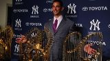 Favorite Yankee . . . Jorge Posada.  He just retired, but he is such a class act.  He will be missed.  Hip, hip . . . Jorge!