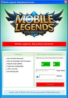 Mobile legends ultimate resource generator in 2020 working tool hack cheat Alucard Mobile Legends, Legend Games, Android Hacks, News Sites, Best Mobile, Cheating, Good News, Battle, Free