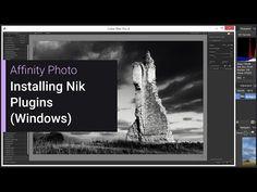 Installing Nik Plugins (Windows) (Affinity Photo) - YouTube